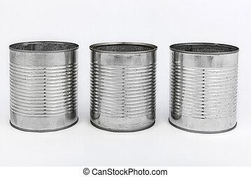 罐頭, 錫