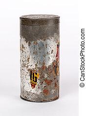 罐頭, 錫, 白色, 被隔离