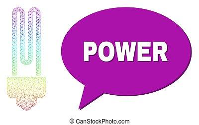 网絡, 氣泡, 力量, 坡度, 圖象, 光譜, 燈泡, 消息, 螢光, 陰影