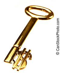 美元, 金子鑰匙