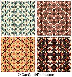 美麗, 上色, 插圖, 矢量, 彙整, 背景, 幾何學, 多角形