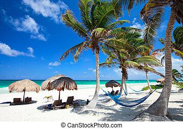 美麗, 加勒比海海灘