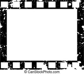 老式的東西, grunge, 框架, 電影