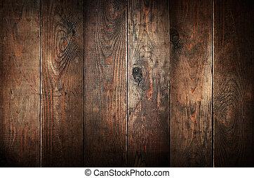 老, 風化, 摘要, 背景。, 木頭, planks.