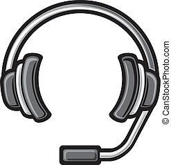 耳機, 呼叫中心