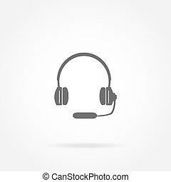 耳機, 話筒, 頭戴收話器, 圖象