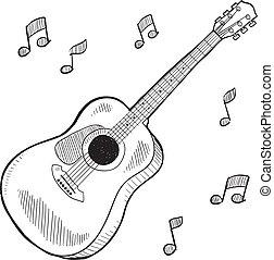 聲學的六弦琴, 略述