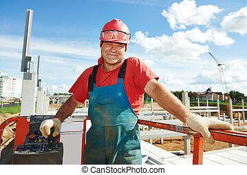 肖像, 建設工人