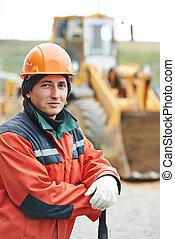 肖像, 建造者, 建設工人