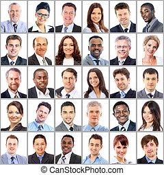肖像, 彙整, 商業界人士