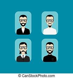 肖像, avatar, 卡通