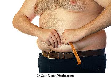 肚子, 肥胖