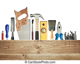 背景, 木工工作