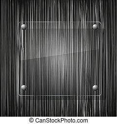 背景。, 矢量, grunge, 插圖, 玻璃