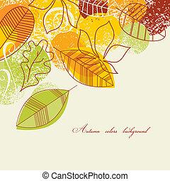 背景, 秋天