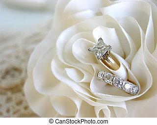 背景, 結婚戒指