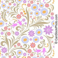 背景, 花, 白色, 鮮艷