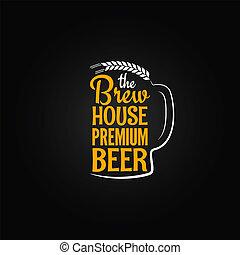 背景, 菜單, 玻璃, 啤酒, 設計, 瓶子, 房子