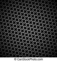 背景, 黑色, seamless, 結構, 碳