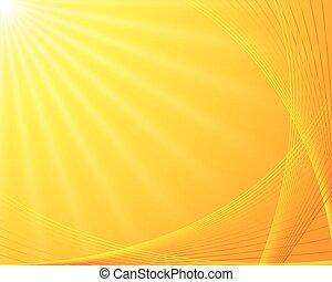 背景, sunburst