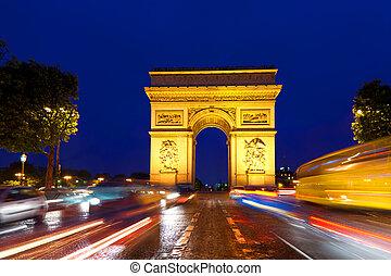 胜利的拱, 巴黎, 法國