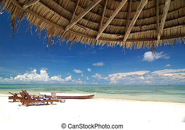胜地, 海灘, 熱帶