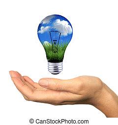 能量, 在之內, 伸手可及的距離, 可更新