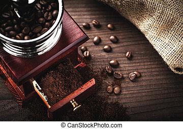 脫衣舞女, 咖啡豆