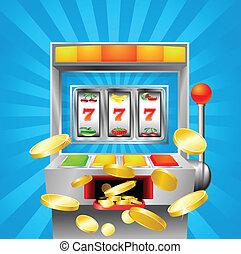 自動販賣机, 水果, 贏得