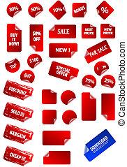 自己, 正文, 標籤, 黏性, 你, design., 完美, 网, 任何, 容易, 銷售, retro., size., 大, 價格, 彙整, 編輯, 2.0, 液體, grunge, advertisement., 矢量