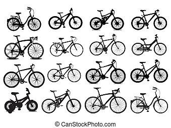 自行車, 圖象