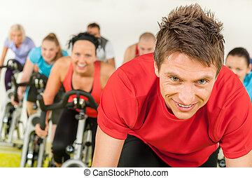 自行車, 體操, 室內, 循環