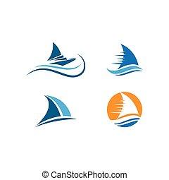 航行, 標識語, 小船