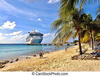船, 加勒比海, 巡航