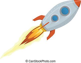 船, 火箭