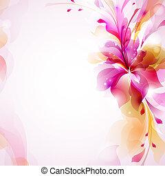 花, 摘要