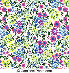 花, 鮮艷, 背景, 白色