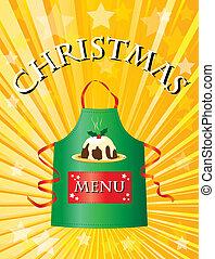菜單, 聖誕節