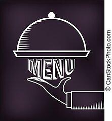 菜單, 黑板