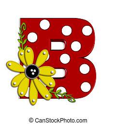 葡萄樹, 希腊語的第一個字母, 向日葵, b