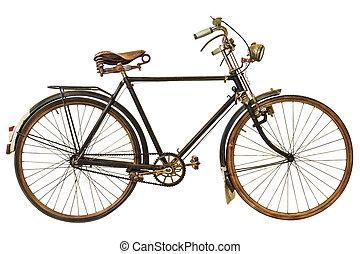 葡萄酒, 白色, 生鏽, 自行車, 被隔离
