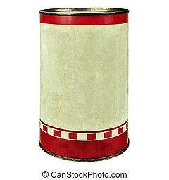 葡萄酒, 錫, 白色, 被隔离, 罐頭