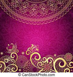 葡萄酒, gold-purple, 框架