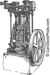 蒸汽机, 固定式