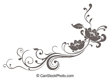 蓮花, 圖案, 花
