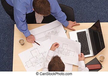 藍圖, 二, 建筑師, 回顧