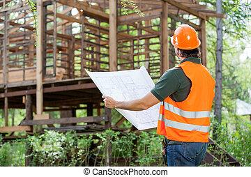 藍圖, 建設, 建築師, 站點