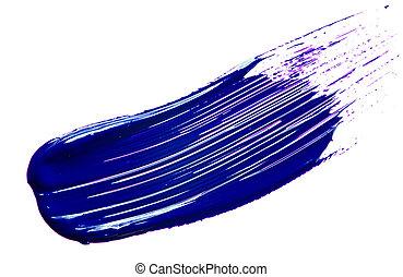 藍的托盤, 畫