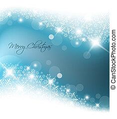 藍色的燈, 摘要, 聖誕節, 背景