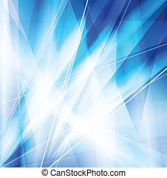 藍色的線, 摘要, 氖, 矢量, 背景